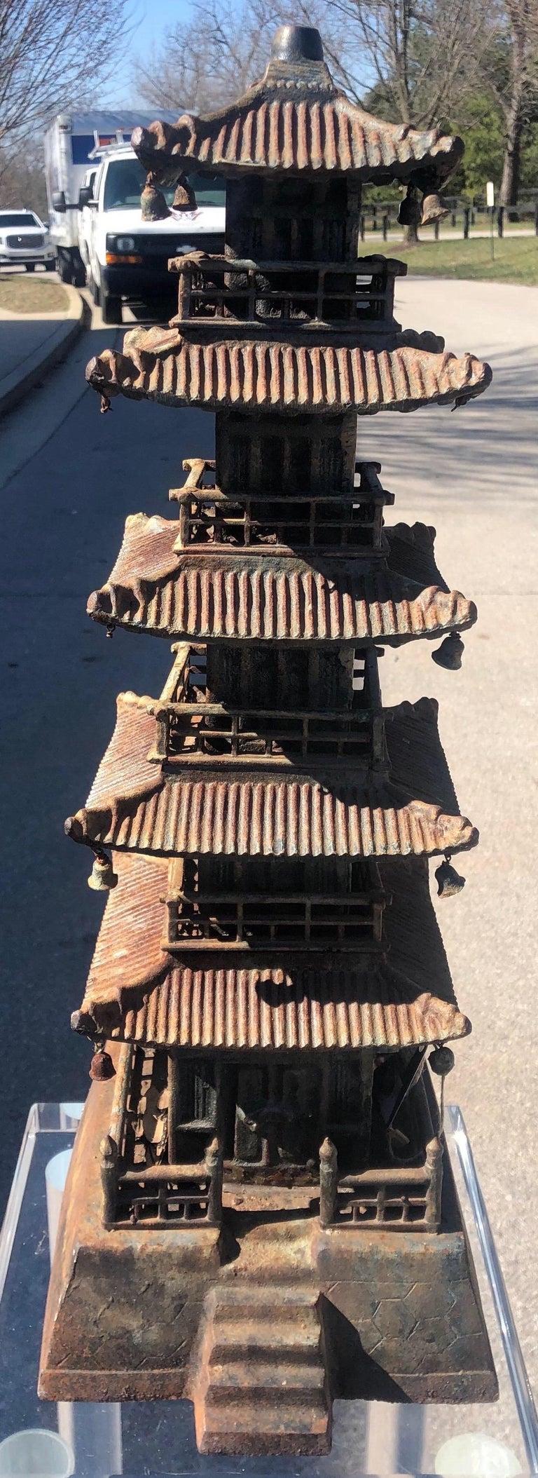 Cast Iron Pagoda For Sale 7