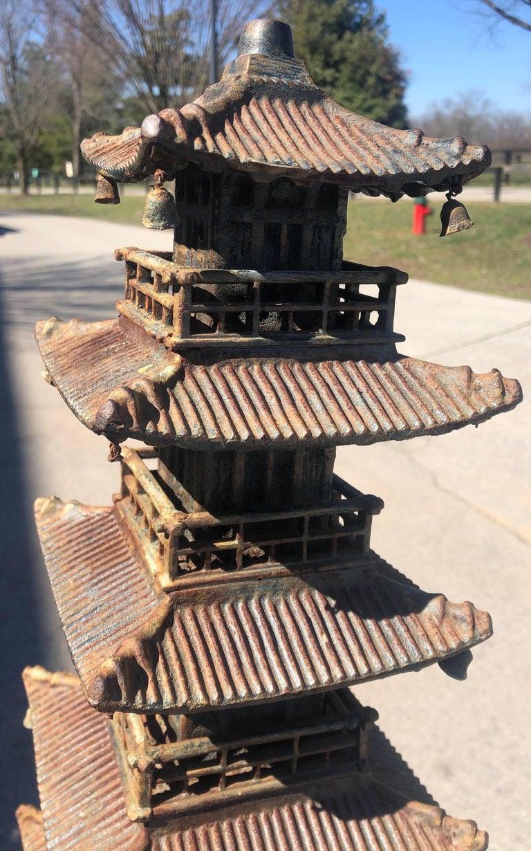 Cast Iron Pagoda For Sale 8