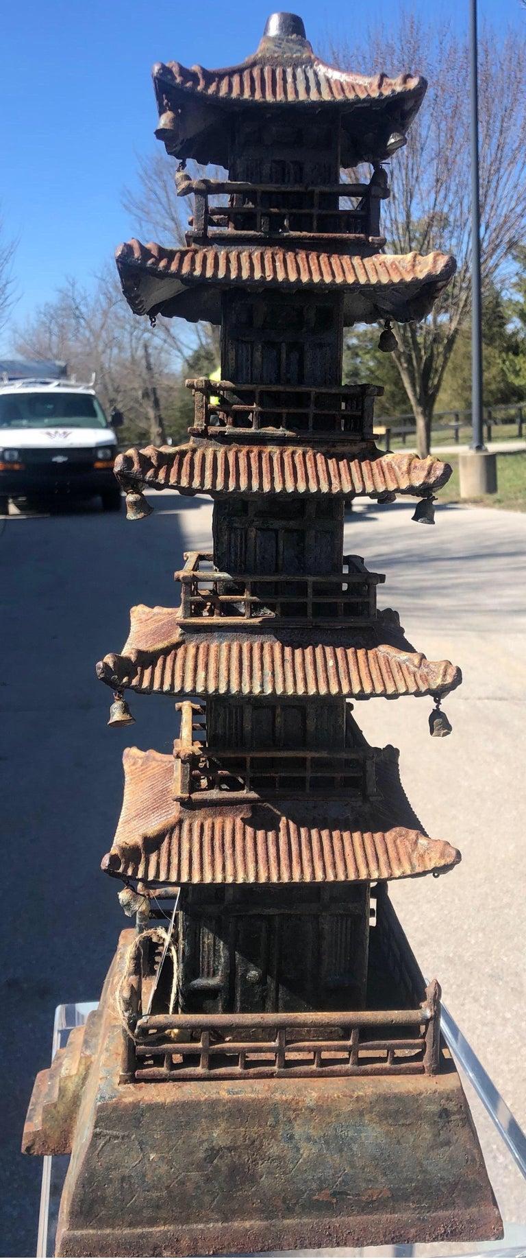Cast Iron Pagoda For Sale 9