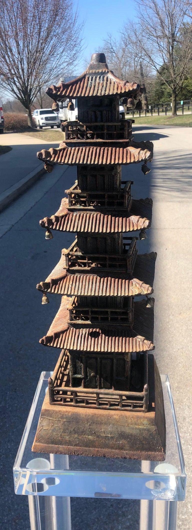 Cast Iron Pagoda For Sale 10