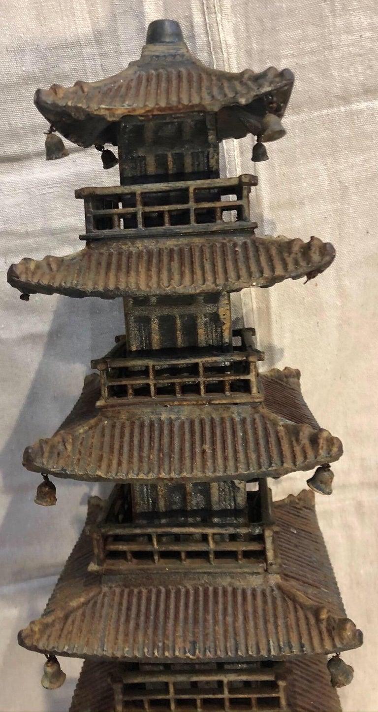Cast Iron Pagoda For Sale 1