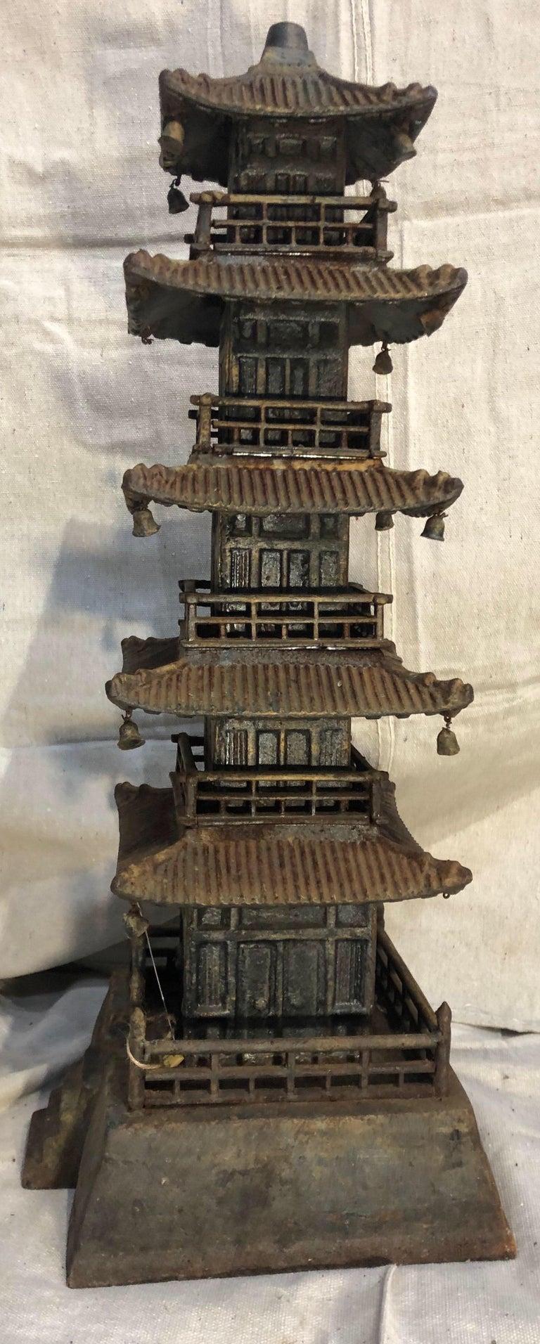 Cast Iron Pagoda For Sale 3