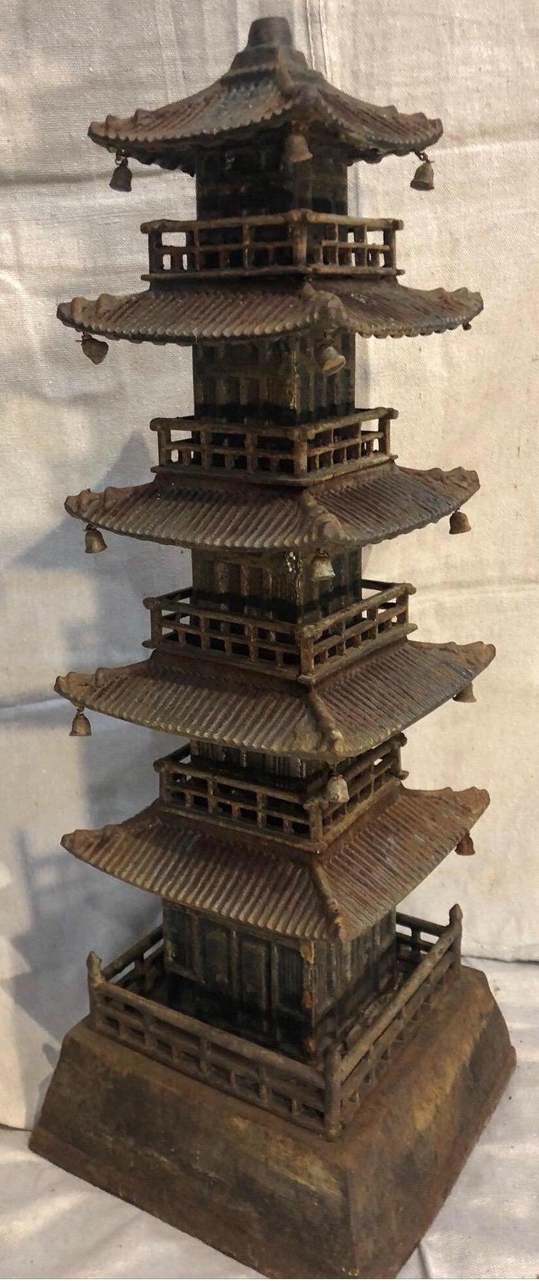 Cast Iron Pagoda For Sale 4