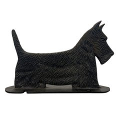 Cast Iron Scottie Terrier Bootscrape