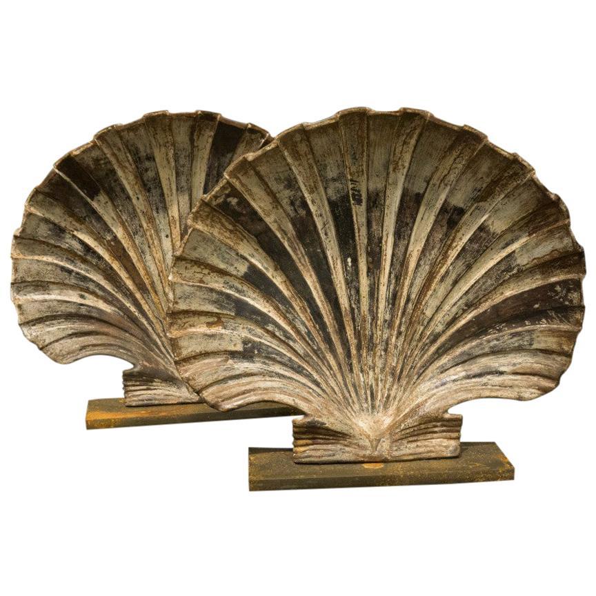 Cast Iron Shells Rare Art