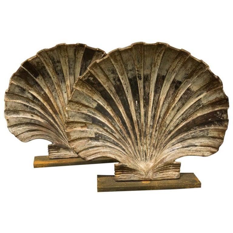 Cast Iron Shells Rare Art For Sale