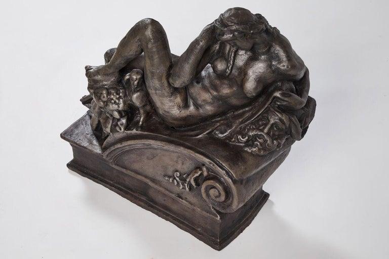 Cast Iron Statue of
