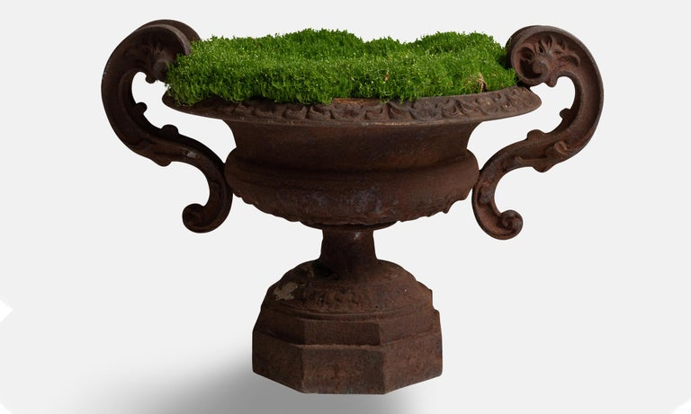 French Cast Iron Urns For Sale