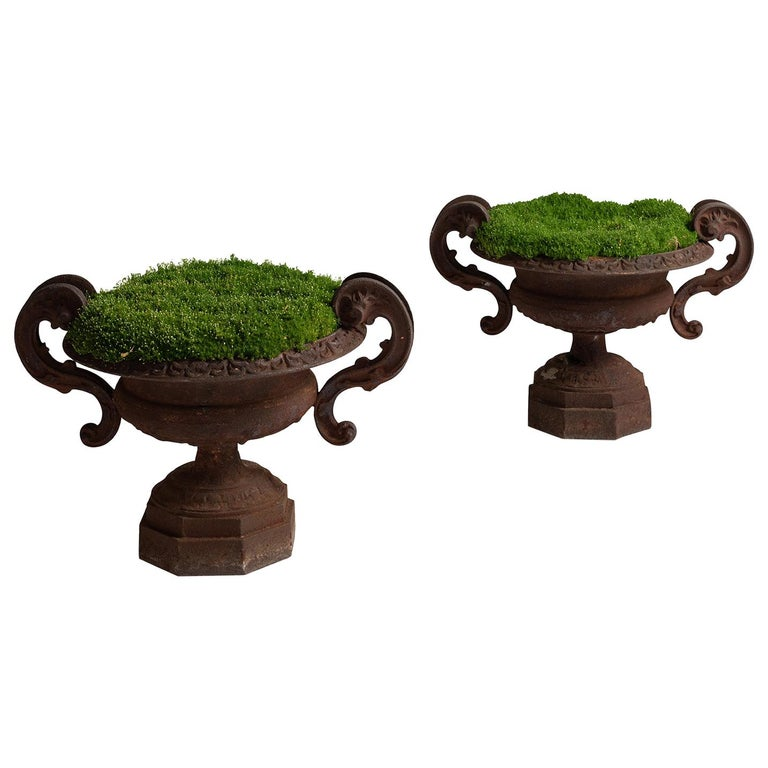 Cast Iron Urns For Sale