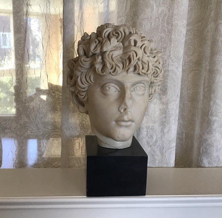 Early 20th Century Cast Marble Roman Sculpture For Sale