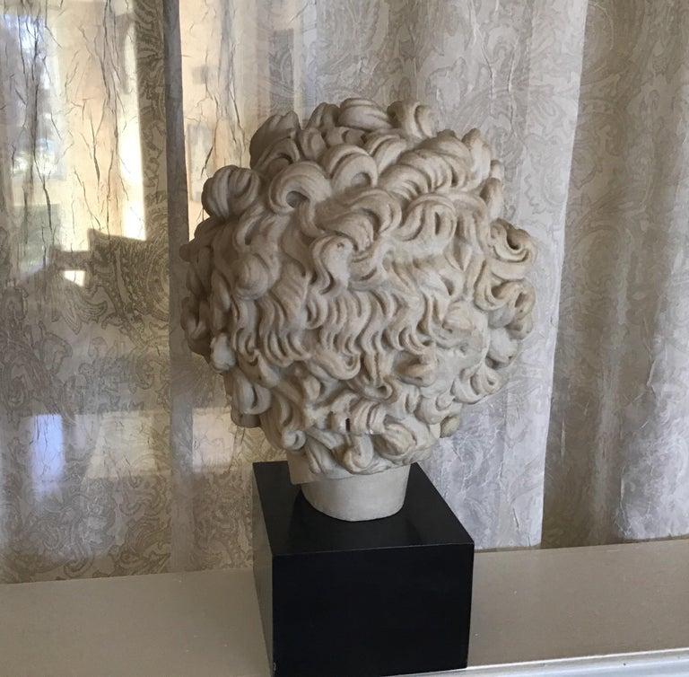 Cast Stone Cast Marble Roman Sculpture For Sale