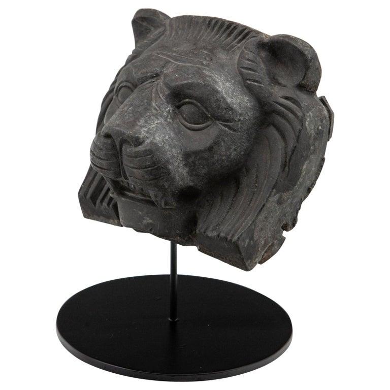 Cast Metal Lion Head For Sale