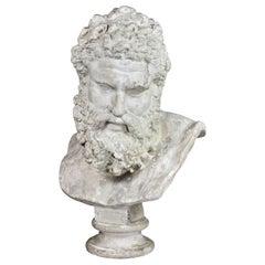 Cast Plaster Bust of Jupiter
