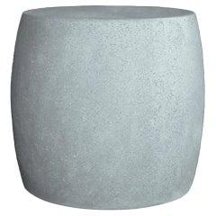 Cast Resin 'Barrel' Side Table, Keystone Finish by Zachary A. Design
