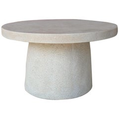 Cast Resin 'Hive' Cocktail Table, Aged Stone Finish by Zachary A. Design