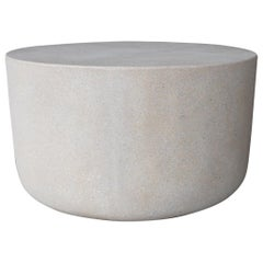 Cast Resin 'Millstone' Coffee Table, Aged Stone Finish by Zachary A. Design