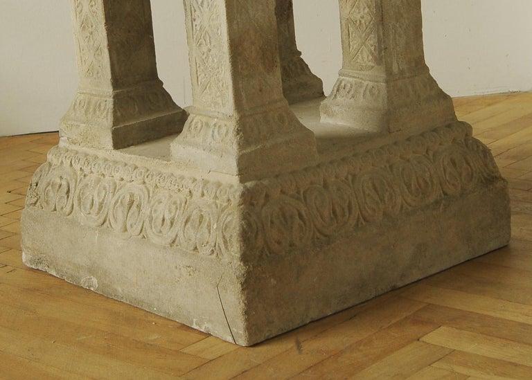 Cast Stone Fountain or Planter, Late 19th Century For Sale 6