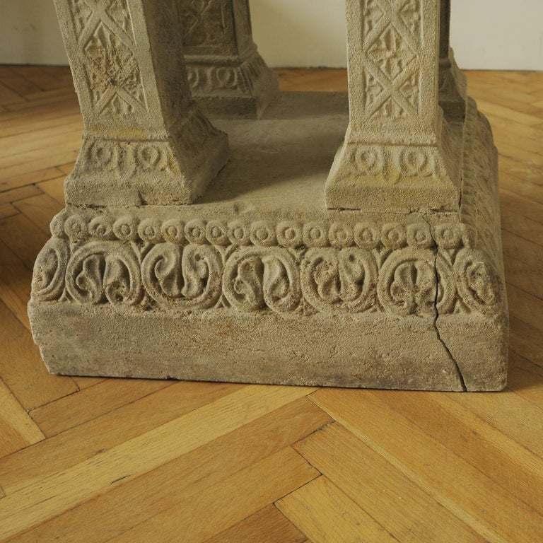 Cast Stone Fountain or Planter, Late 19th Century For Sale 7