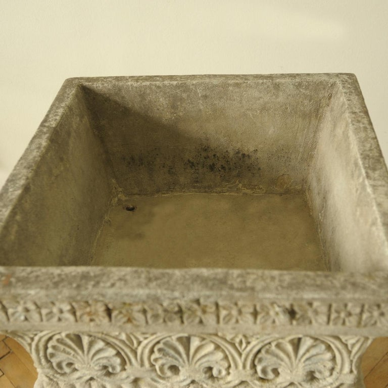 Cast Stone Fountain or Planter, Late 19th Century For Sale 9