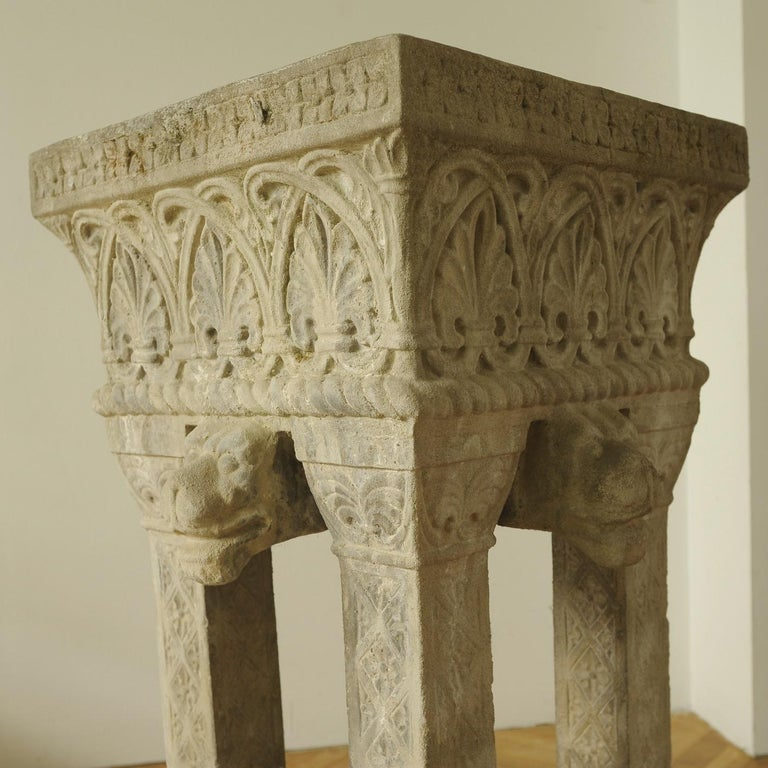 Austrian Cast Stone Fountain or Planter, Late 19th Century For Sale
