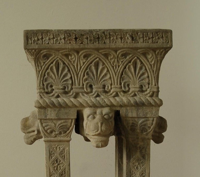 Cast Stone Fountain or Planter, Late 19th Century In Good Condition For Sale In BUDAPEST, HU