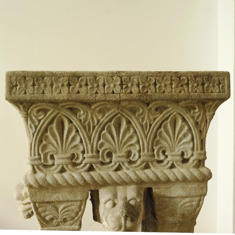 Cast Stone Fountain or Planter, Late 19th Century For Sale 1