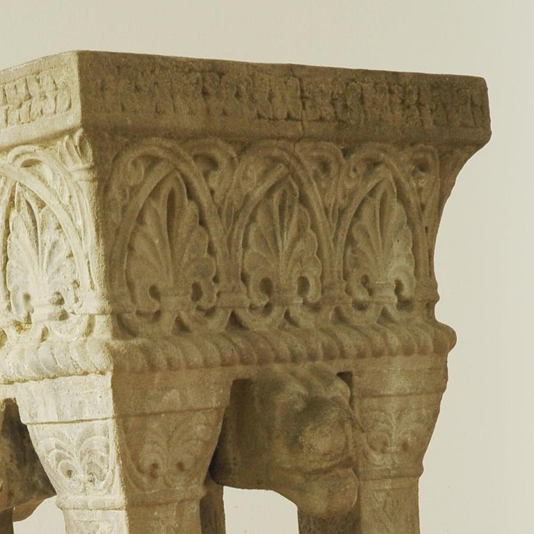 Cast Stone Fountain or Planter, Late 19th Century For Sale 2