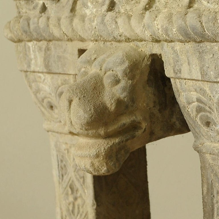 Cast Stone Fountain or Planter, Late 19th Century For Sale 3