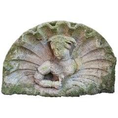 Cast Stone Lunette