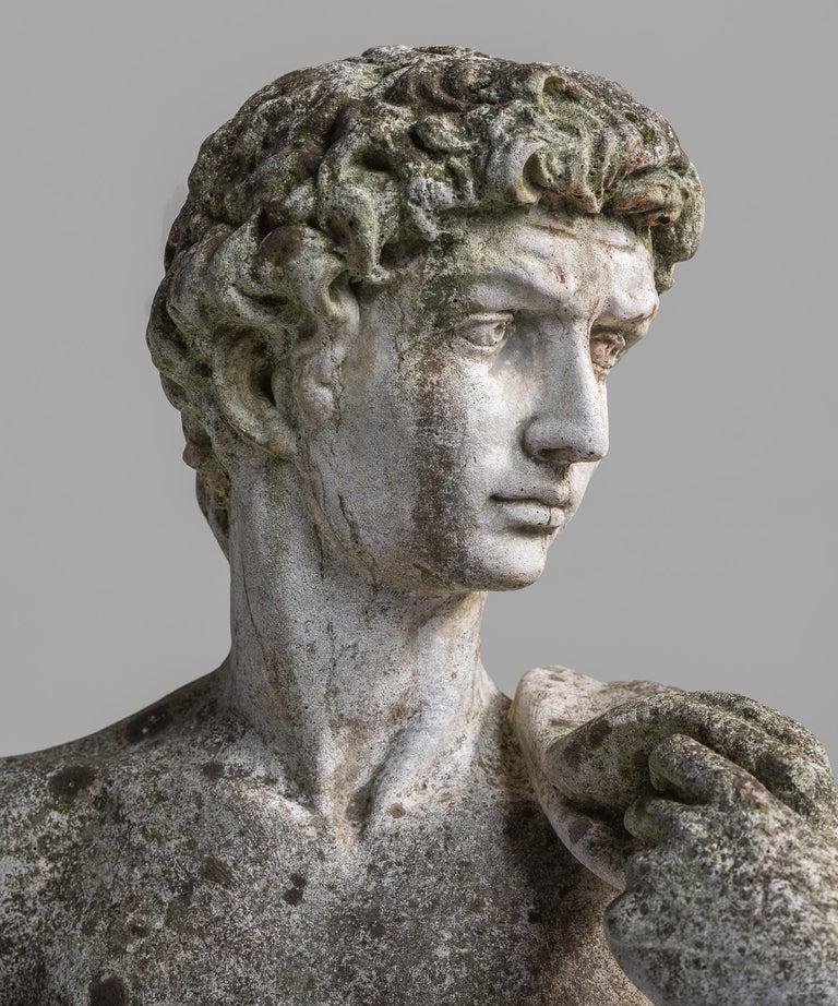 20th Century Cast Stone Statue, France, circa 1900 For Sale