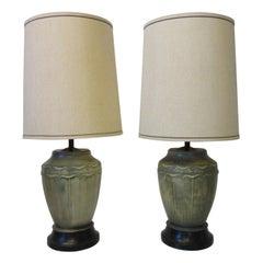 Cast Table Lamps by Feldman Lighting Co., Los Angeles