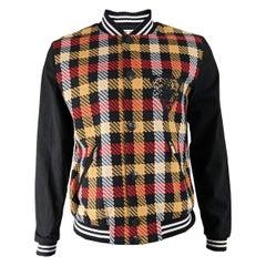 Castelbajac Mens Embroidered Baseball Jacket