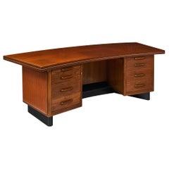 Castelli Midcentury Rosewood Desk