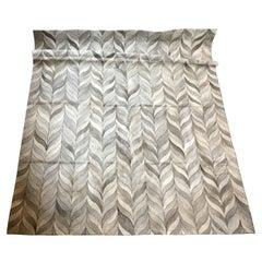 Castelluxe 8 x 10 Allure Design Hair on Hide Rug
