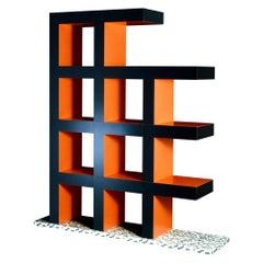 Castilian Bookcase by Aldo Cibic for Memphis Milano Collection