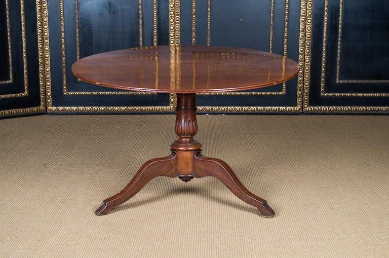 German Castle Furniture Biedermeier Table K. F. Schinkel Castle King Palace For Sale