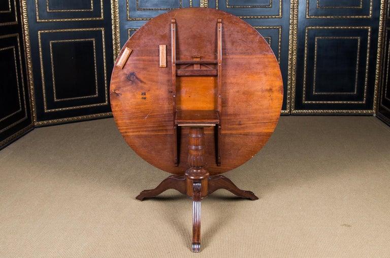 Castle Furniture Biedermeier Table K. F. Schinkel Castle King Palace In Good Condition For Sale In Berlin, DE