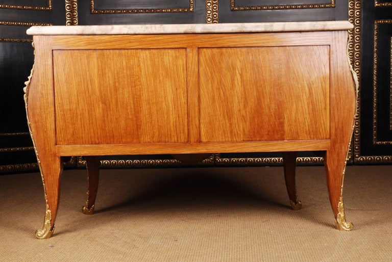 Castle Quality French Commode in Louis XV Style For Sale 4