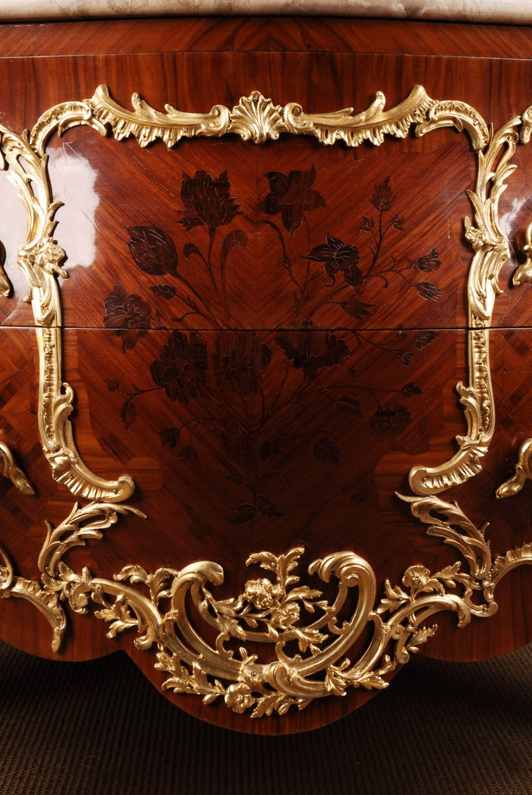 Castle Quality French Commode in Louis XV Style For Sale 1