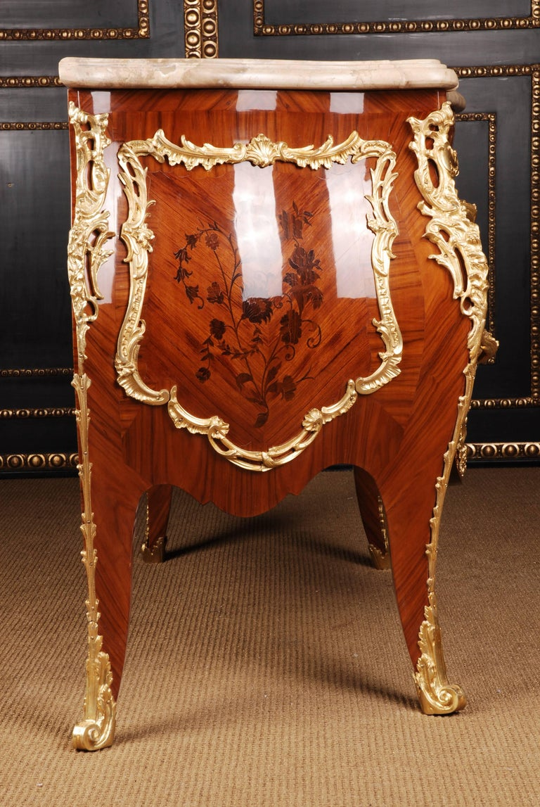 Castle Quality French Commode in Louis XV Style For Sale 2