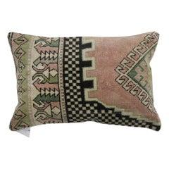 Casual Turkish Rug Pillow