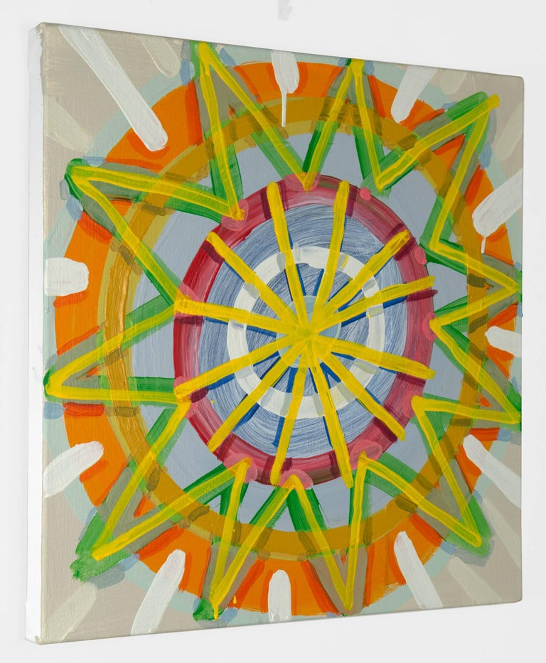 Paper Star - Painting by Cat Balco