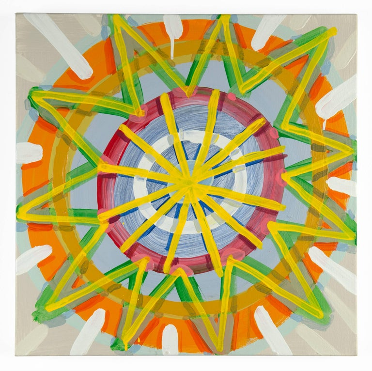 Cat Balco Abstract Painting - Paper Star