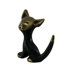 Cat Figurine by Walter Bosse