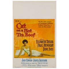 'Cat on a Hot Tin Roof' Film Poster
