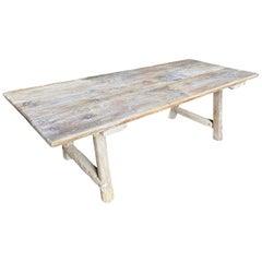 Catalan 18th Century Farm Table, Trestle Table
