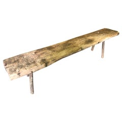 Catalan 18th Century Primitive Bench