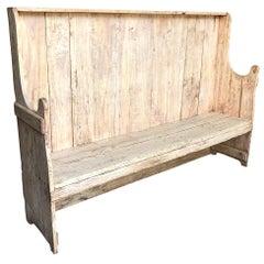Catalan 19th Century Bench
