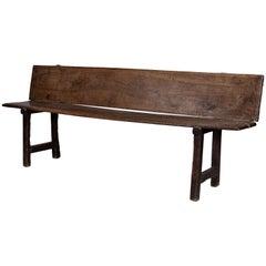 Catalan Walnut Bench