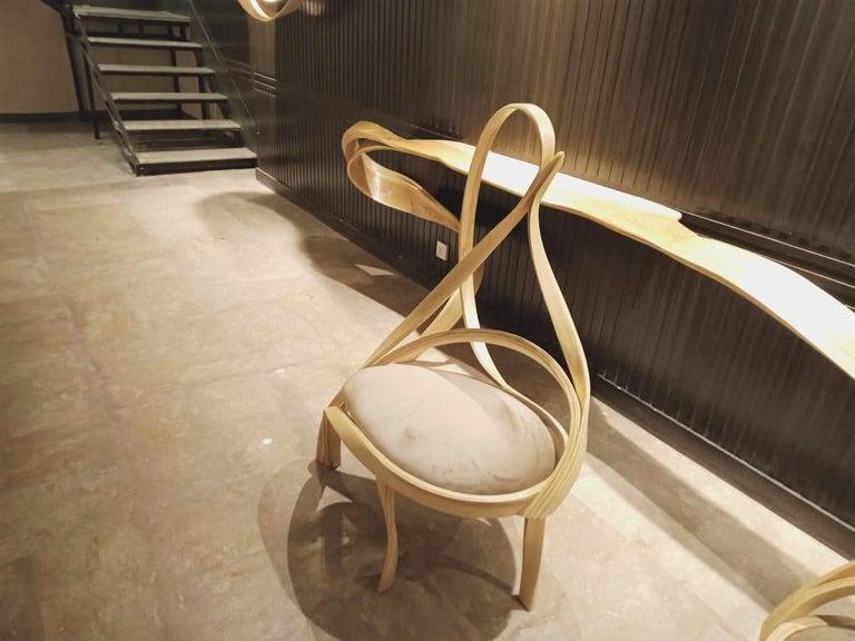 Contemporary Cataract Chair II by Raka Studio For Sale